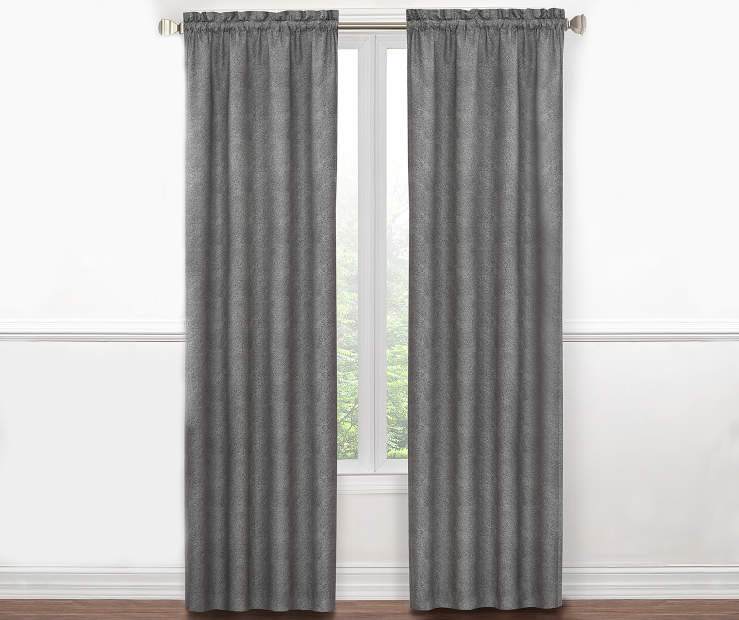 Sundown Textured Thermal Curtain Rod Pocket Panel Pairs