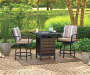 BAYSHORE HIGH BISTRO FIRE PIT TABLE