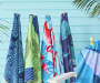 BEACH TOWEL PAISLEY 34X64
