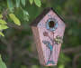BIRD HOUSE WITH FLOWER