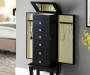 BLACK JEWELRY ARMOIRE Lifestyle Open