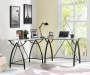 BLACK WITH GLASS TOP L DESK lifestyle