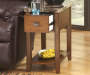 BREEGIN FAUX MARBLE CHAIRSIDE END TABLE