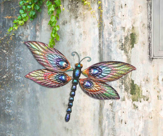 Butterfly Dragonfly 2 Piece Metal Wall Decor Set Big Lots