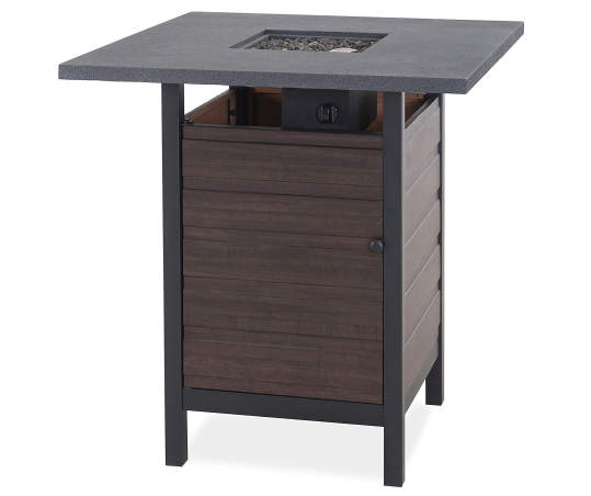 Bays High Bistro Fire Pit Table