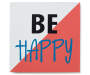 Be Happy Box Wall Plaque silo front