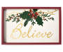 Believe Box Plaque silo front