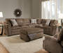 Big Top Sectional Group shot with Recliner