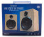 Birch Wooden Bluetooth Stereo Speakers In Package Silo Image