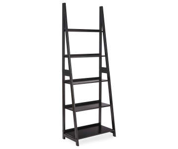 Non Combo Product Selling Price 6999 Original 5999 List Stratford Black 5 Shelf Ladder Bookcase