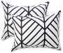 Black Arrow King 12 Piece Comforter Set silo angled