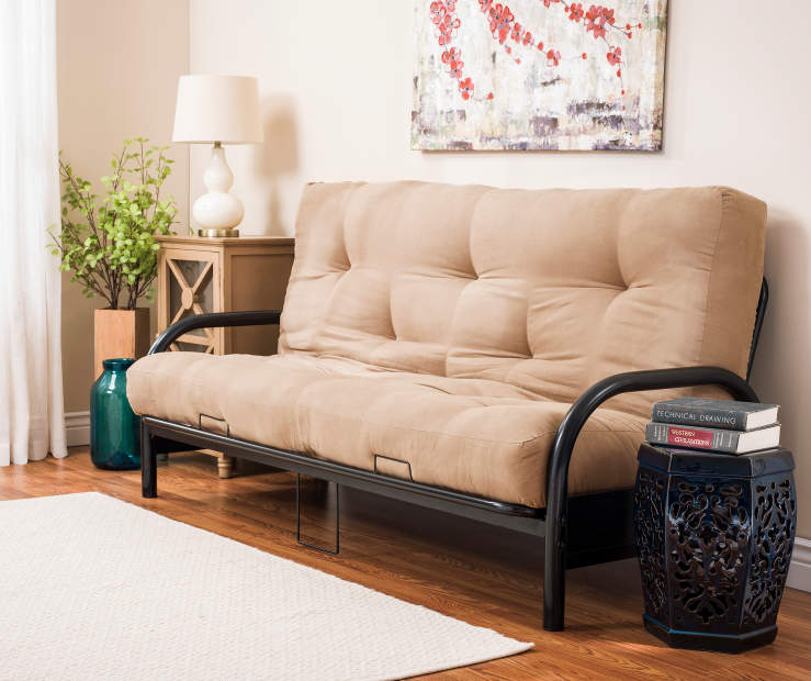 Black Futon Frame and Mattress Collection | Big Lots