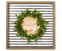 Bless Our Nest Wreath Framed Plaque silo front