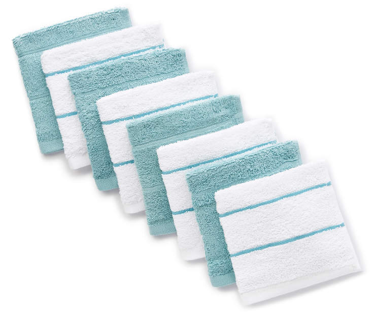 Master Cuisine Cotton Dish Cloths, 8-Packs