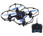 Blue 4 Channel 2.4GHz Remote Control Drone with Camera silo front with remote