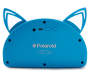 Blue Bluetooth Light-Up Cat Speaker Silo In Package