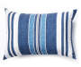 Blue Chair Pad and Pillow 8 Piece Set silo front pillow
