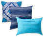 Blue Diamond King 12 Piece Comforter Set silo front