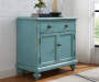 Blue Farmhouse 2 Door Hall Chest lifestyle bedroom