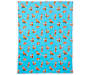 Blue Foxes Soft Throw silo front