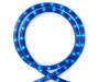 Blue Rope Light 18 Feet silo front