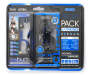 Blue Sport Pack Earphones 2 Pack in Package Silo Image