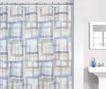 Non Combo Product Selling Price 60 Original List 600 Just Home Blue Brown Gregory Shower Curtain