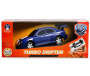 Blue with White Stripe Pro RC Turbo Drifter Action Vehicle silo in package