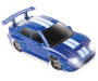 Blue with White Stripe Pro RC Turbo Drifter Action Vehicle silo
