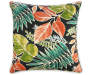 Bora Bora Tropical Outdoor Throw Pillow 20 inch  x 20 inch silo front