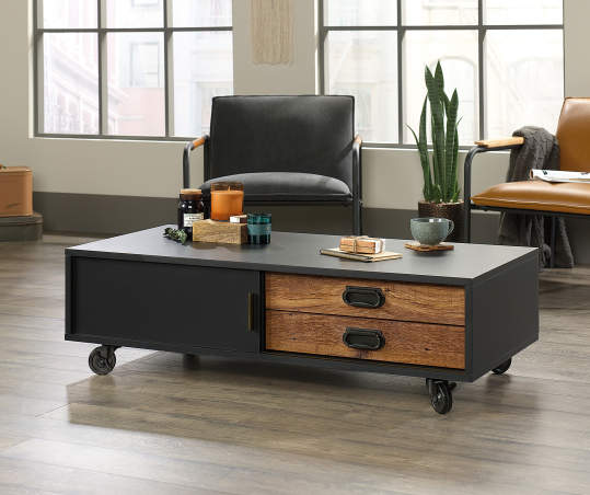 Signature Design By Ashley Norcastle Oval Coffee Table Big Lots