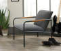 Boulevard Café Charcoal Lounge Chair