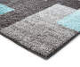 Brampton Aqua Accent Runner 1 Feet 8 Inches by 5 Feet Close Up Corner Silo Image