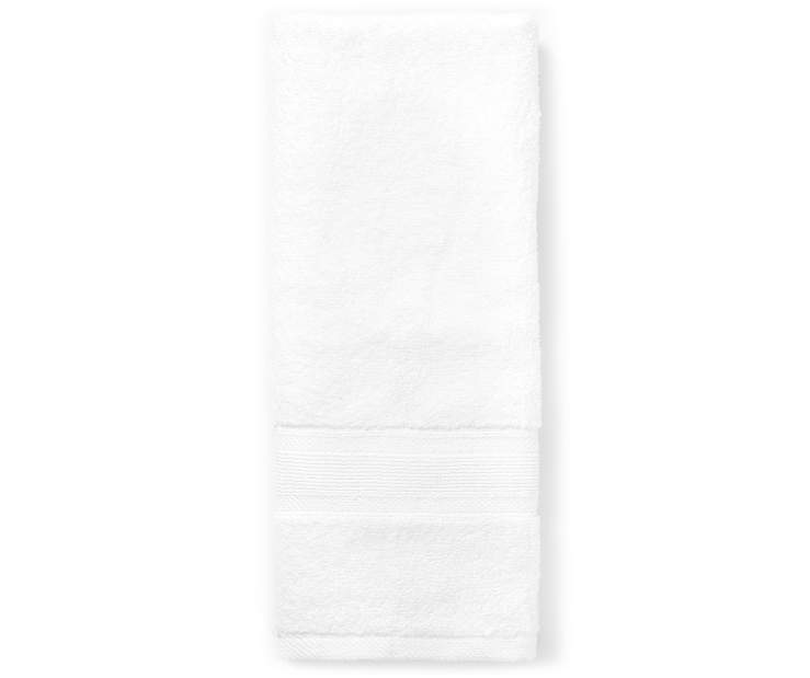 Bright White Hand Towel silo front