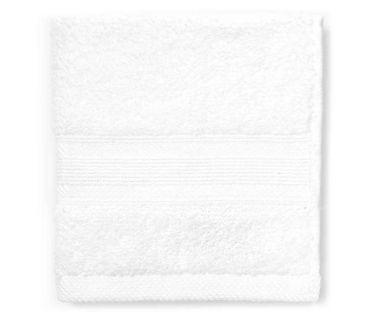 Bright White Wash Towel silo front