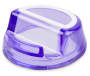 Brights Purple Phone Stand silo angled