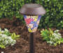 Bronze Mosaic Solar Pathway Light