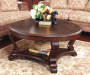 Brookfield Dark Brown Coffee Table lifestyle