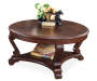 Brookfield Dark Brown Coffee Table silo front