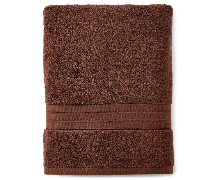 Brown Bath Towel silo front