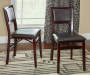 Brown Classic Open Back Folding Chairs 2 Piece Set lifestyle