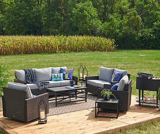 Broyhill Legacy Castle Pines 5 Piece, Broyhill Patio Furniture