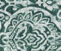 Bryon Forest Damask Blackout Single Curtain Panel 95 inch swatch