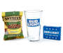 Bud Light Pint Glass and Playing Cards 3 Piece Gift Set silo front