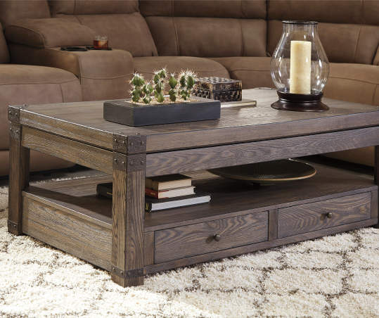 Signature Design By Ashley Buladen Lift Top Coffee Table Big Lots