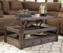 Buladen Lift Top Coffee Table silo front