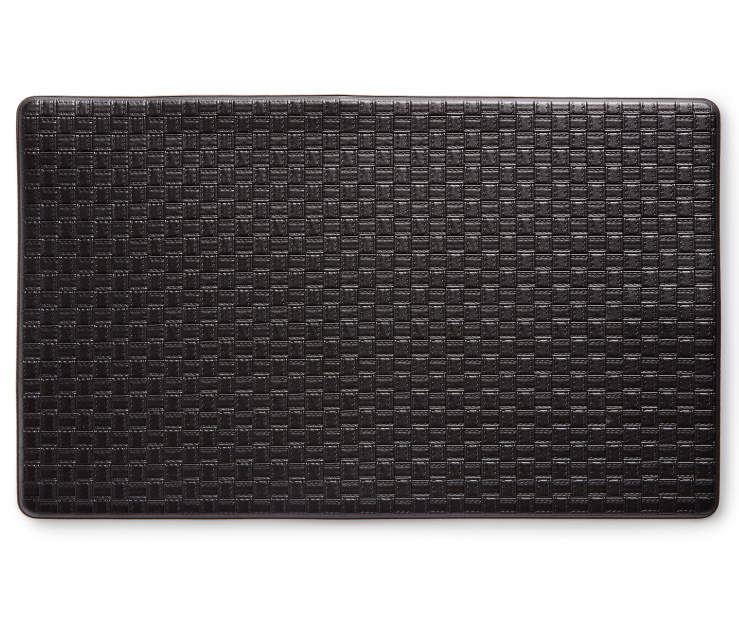 CHEF MAT SOLID BLACK