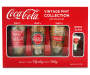 COCA-COLA VINTAGE PINT COLLECTION
