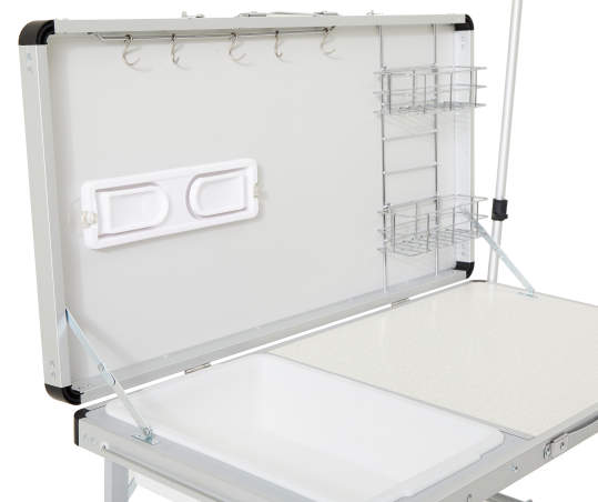 Coleman Pack Away Deluxe Kitchen Portable Prep Station Big Lots