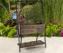 CORAL COAST RAISED PLANTER WITH TRELLIS
